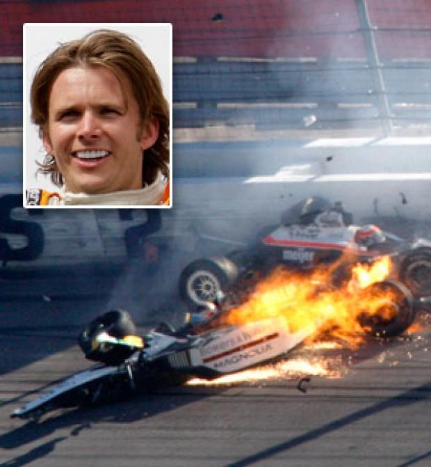 Indy 500 Winner Dan Wheldon Dies In Crash